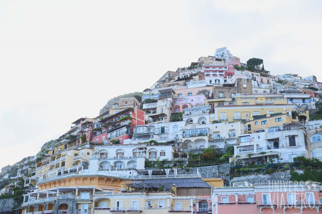 Positano from the Spiaga Grande