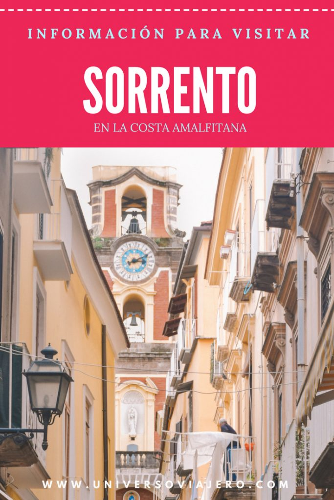 Pinterest Viajar a Sorrento