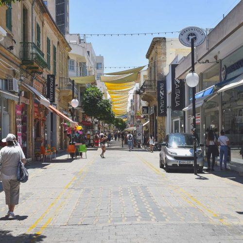 Ledra Street - Travel to Nicosia in Cyprus, a divided capital.