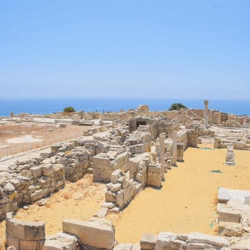 The Agora - Ancient Kourion - Limassol - Cyprus