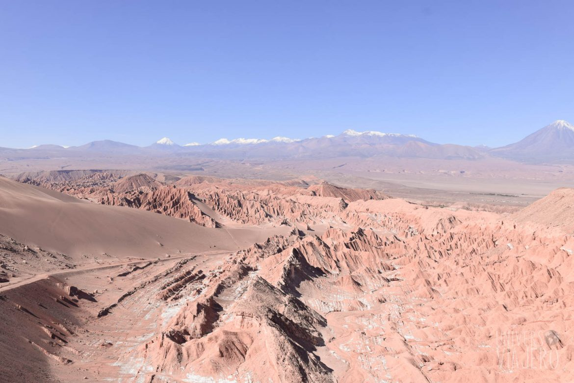 The dead valley in San Pedro de Atacama