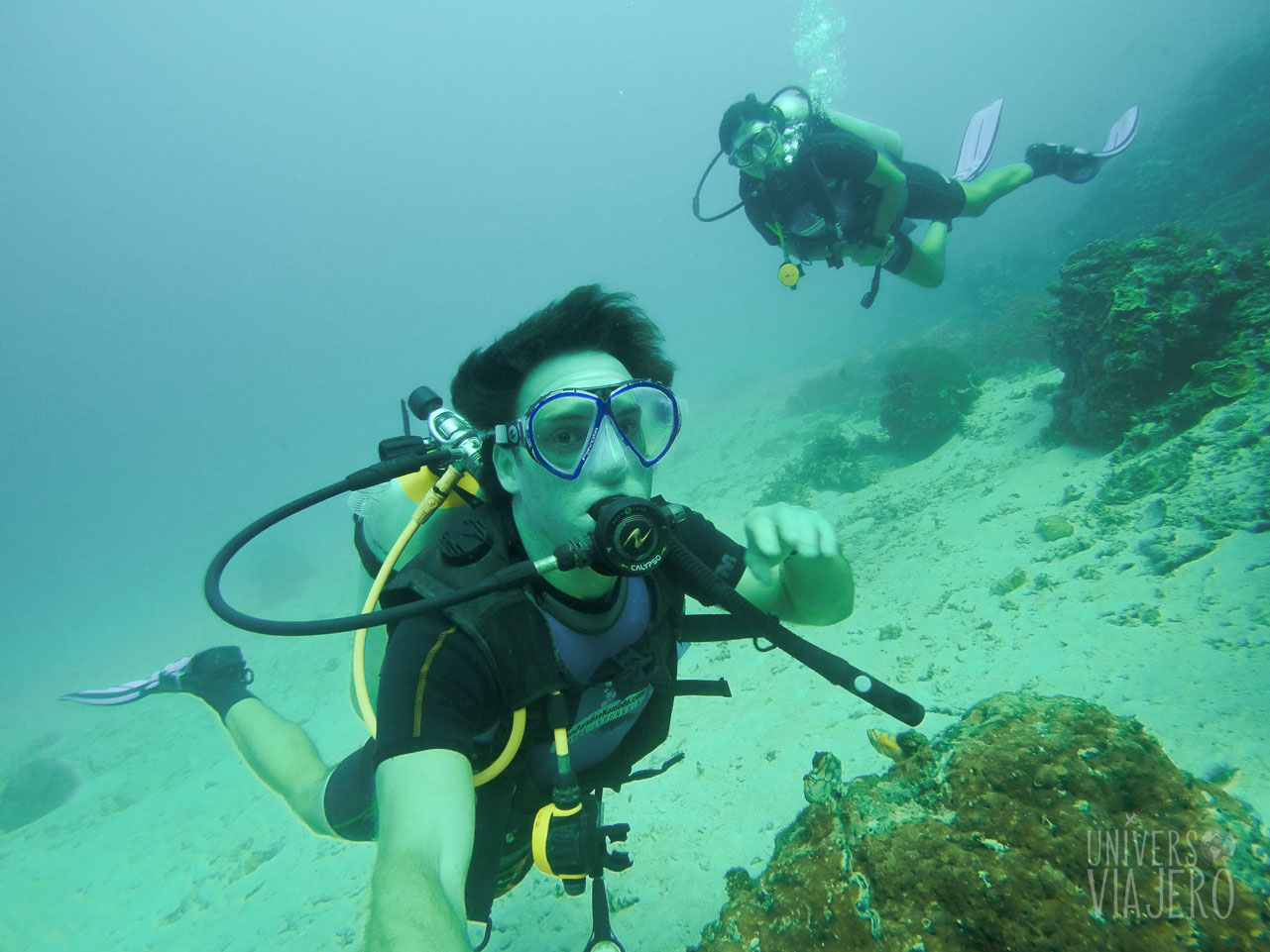 diving in Philippines