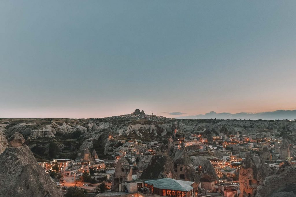 Sunset En Capadocia