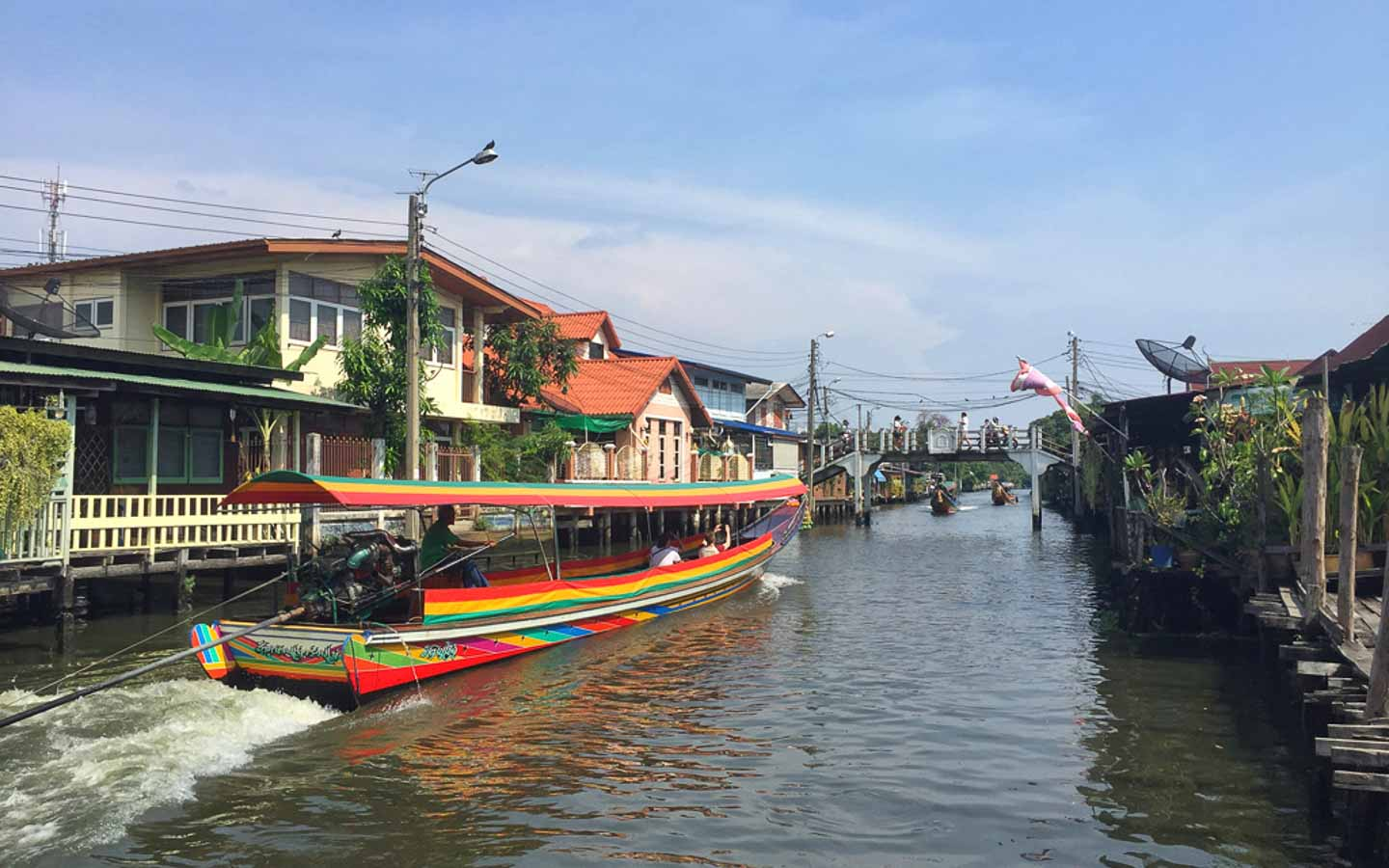 Ride through Bangkok Canals - Awesome things to do in Thailand
