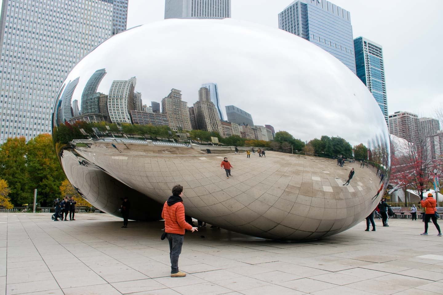 Cloud Gate, The Bean