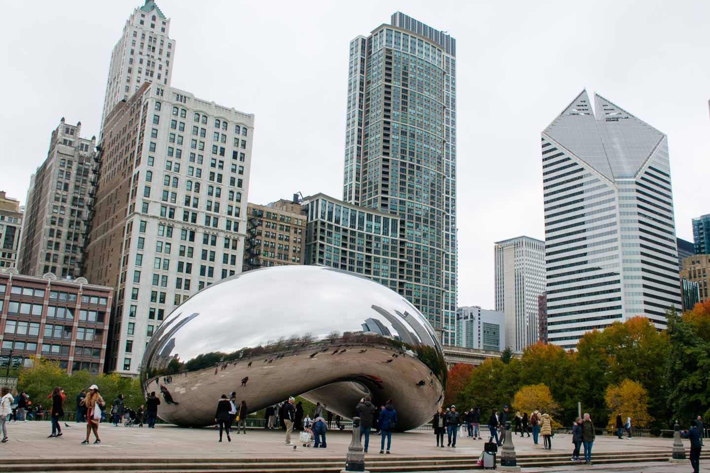 lugares para visitar en Chicago Cloud Gate